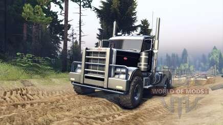 Peterbilt 379 v1.1 black para Spin Tires