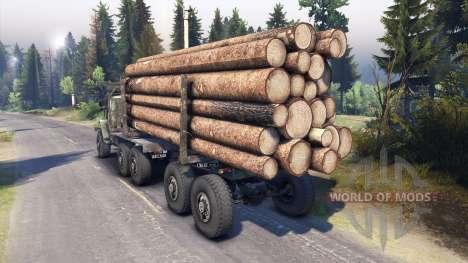 Ural-4320 para Spin Tires