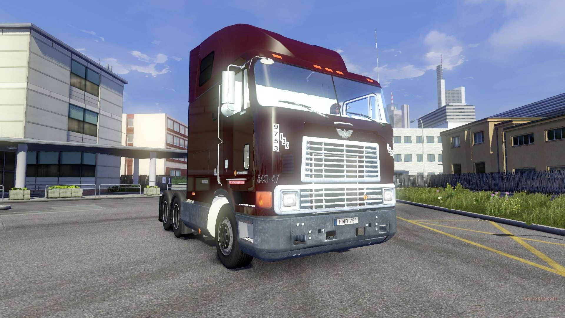 international 9800 para euro truck simulator 2. Black Bedroom Furniture Sets. Home Design Ideas