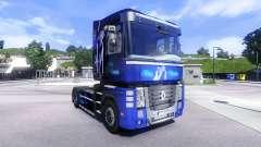 Pele Sonho Azul na unidade de tracionamento Rena