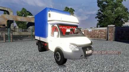 GAZ-3302 Gazela para Euro Truck Simulator 2