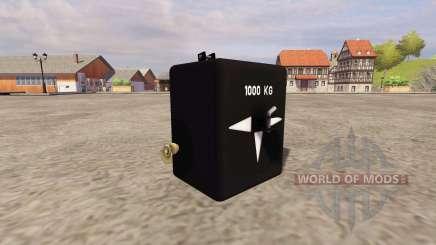 GMC 1000 para Farming Simulator 2013