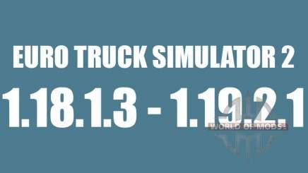 Patch 1.8.1.3 - a partir de 1.9.21 para Euro Truck Simulator 2