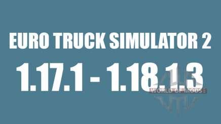 Patch 1.17.1 para 1.18.1.3 para Euro Truck Simulator 2