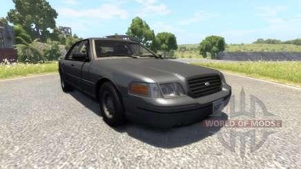 Ford Crown Victoria 1999 v2.0 para BeamNG Drive