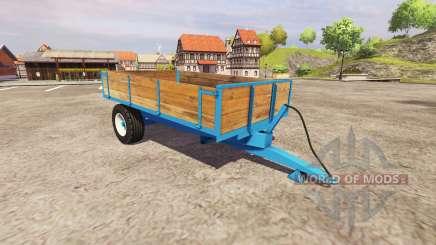 Um único eixo reboque basculante para Farming Simulator 2013