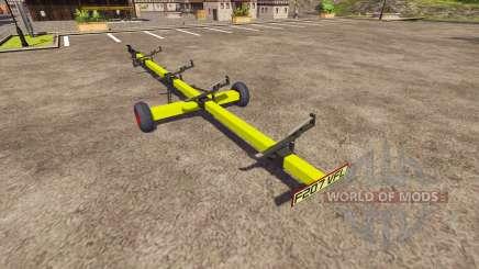 Trailer para harvester CLAAS para Farming Simulator 2013