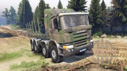 Scania Timber para Spin Tires