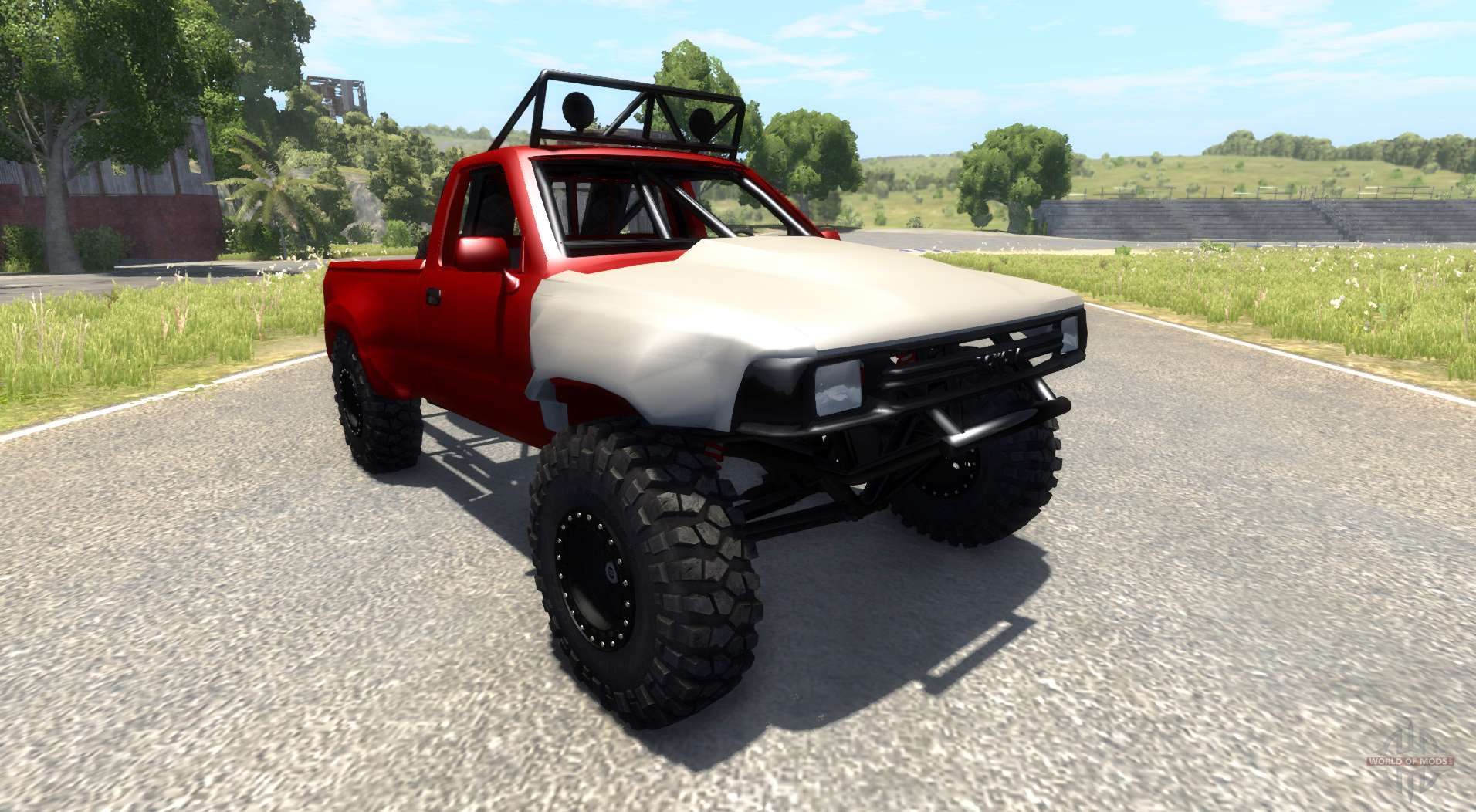 toyota prerunner off road para beamng drive. Black Bedroom Furniture Sets. Home Design Ideas