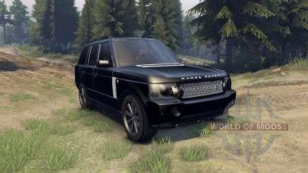 Range Rover Sport Black Final para Spin Tires