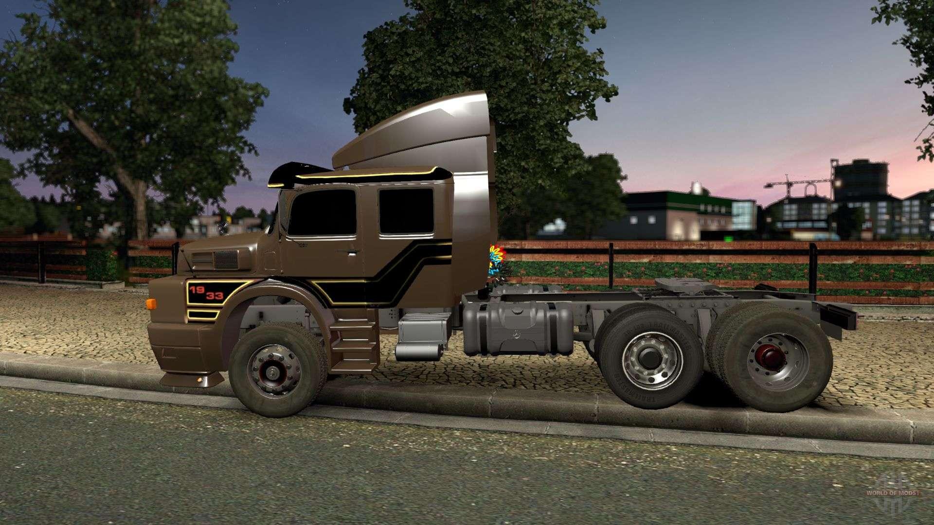 Mercedes benz 1934 para euro truck simulator 2 for Mercedes benz delaware