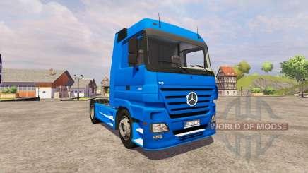 Mercedes-Benz Actros v2.0 para Farming Simulator 2013