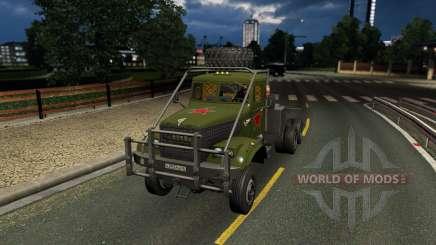 Inicialmente, 255 para Euro Truck Simulator 2