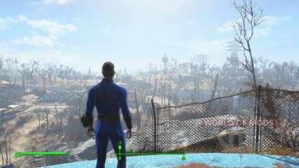 Salve antes de sair do vault para Fallout 4