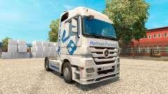 Hartmann Transporte de pele para o caminhão Merc