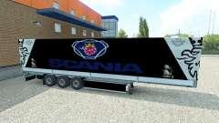 Pele Scania semi-reboque