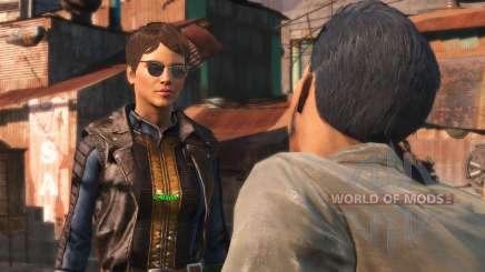 O reflexo no óculos para Fallout 4