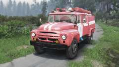 ZIL-130 AC-40 [25.12.15] para Spin Tires