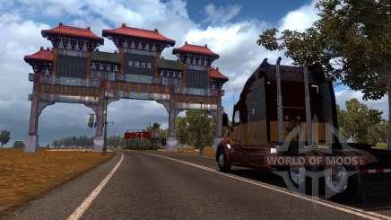 Mapa Da China para American Truck Simulator