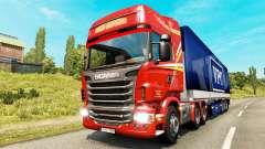 Colorir as páginas para o tráfego de mercadorias para Euro Truck Simulator 2