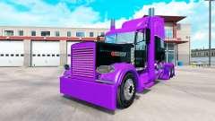 Corrida de pele para o caminhão Peterbilt 389