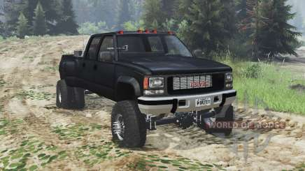 GMC Suburban 1995 Crew Cab Dually [03.03.16] para Spin Tires