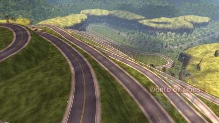 Mapa Do Peru para American Truck Simulator