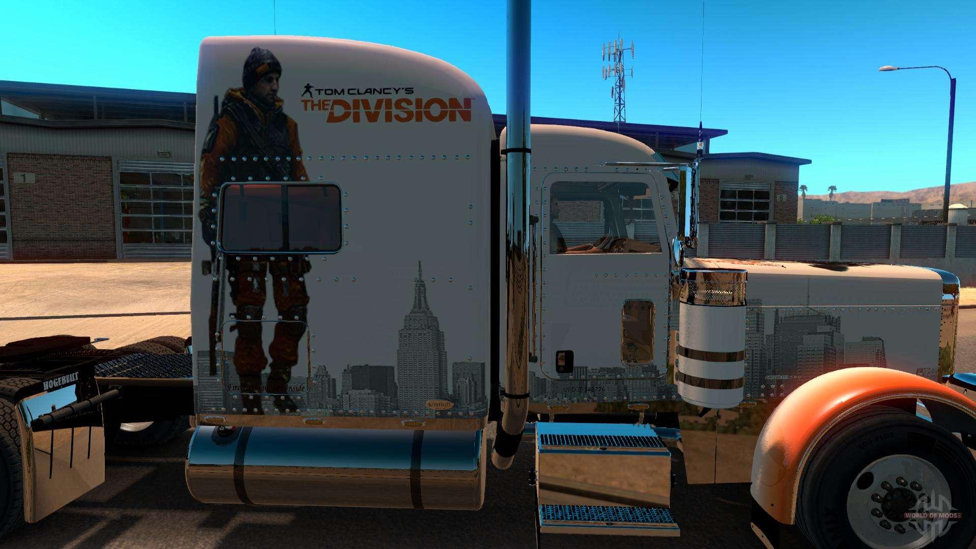 Skin The Division for Peterbilt 389 para American Truck