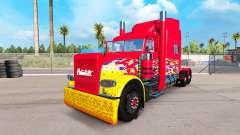 A pele do caminhão Pick-up para o Peterbilt 389