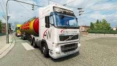 Páginas para colorir de caminhões para o tráfego de v1.1 para Euro Truck Simulator 2
