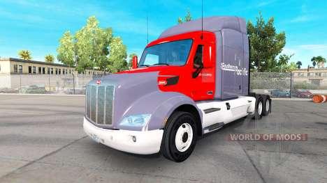 Sul do Pacífico pele para o caminhão Peterbilt para American Truck Simulator