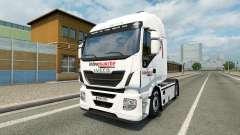Pele Intermarket no caminhão Iveco