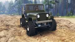 Jeep Willys 1963 para Spin Tires