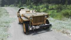 Jeep Willys 1942 [03.03.16] para Spin Tires