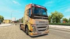 A pele sobre a Nebulosa do Grunge Volvo caminhõe