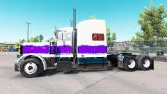 A Pérola da pele para o caminhão Peterbilt 389