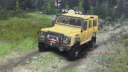 Land Rover Defender 110 Camel Trophy [03.03.16] para Spin Tires