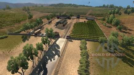 Novas cidades na Califórnia e em Nevada para American Truck Simulator