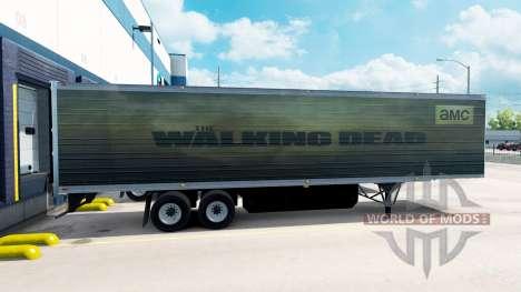 Pele Walking Dead sobre o trailer para American Truck Simulator