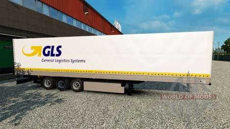 Independente GLS trailer para Euro Truck Simulator 2