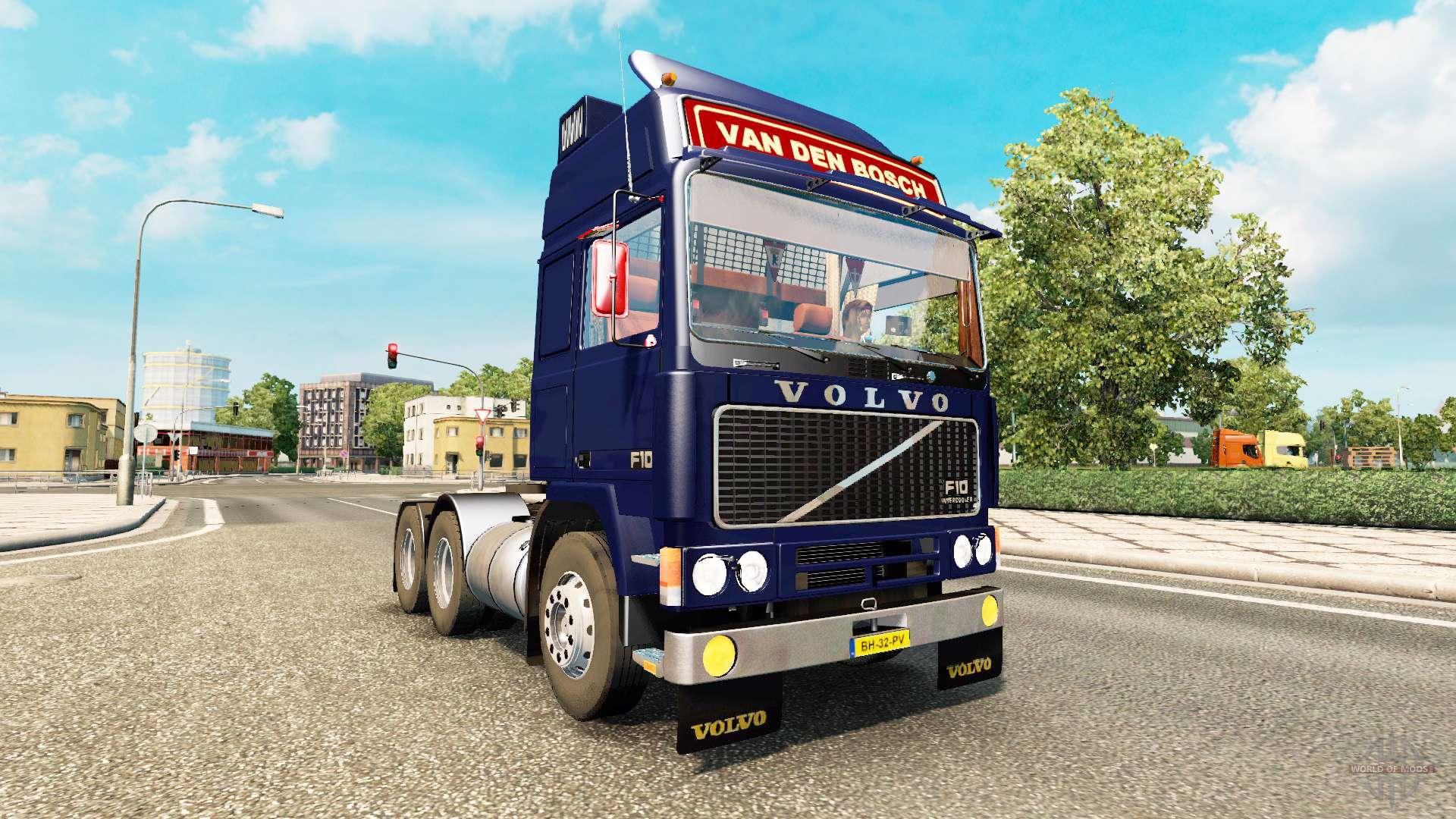 volvo f10 para euro truck simulator 2. Black Bedroom Furniture Sets. Home Design Ideas