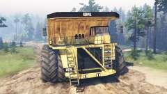Caminhão de Dump 8x8