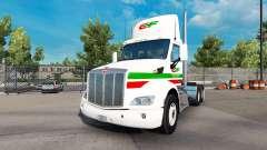 Consildated pele para o caminhão Peterbilt 579 D