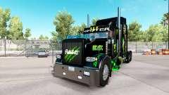 Monster Energy pele para o caminhão Peterbilt 38