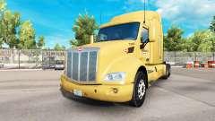Bison Transporte de pele para o caminhão Peterbi