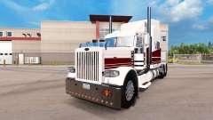 Costa oeste da pele para o caminhão Peterbilt 38