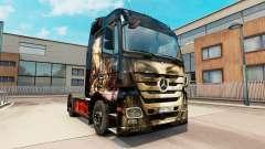 Luis Royo pele para caminhão Mercedes Benz
