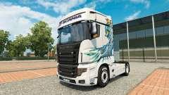 Uma coleção de skins para Scania caminhão R700