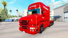 A. Krabbendam pele para caminhão Scania T