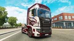 Fantasia de pele para a Scania caminhão R700